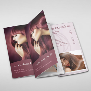 Gloss Folded Brochures