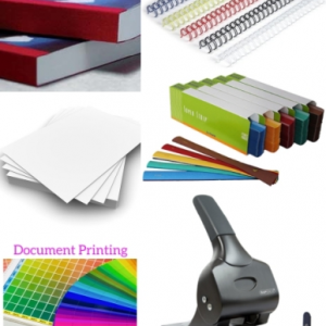 PRODUCT DETAIL A4 Document Printing & Binding