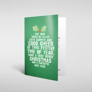 Regular Laminated Greeting Cards