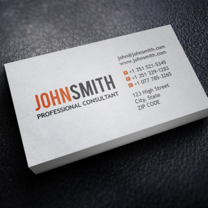 Business Cards - Digital Print