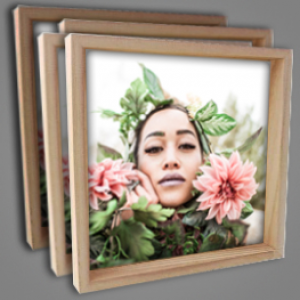 Box Frame With Picture