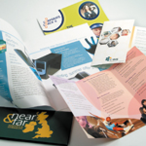 UNCOATED FOLDED LEAFLETS