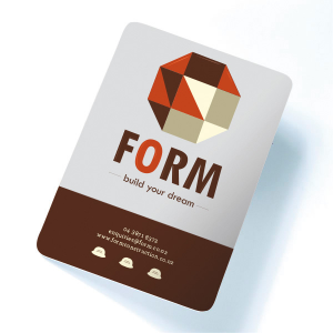 Luxury Business Cards Shaped
