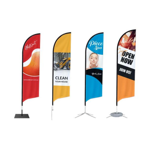 Bow Banner Flags