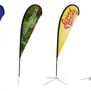 Teardrop Banner Flags