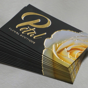 Velvet & Foil Business Cards