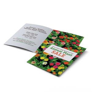 Small Quantity A6 Folded Brochures