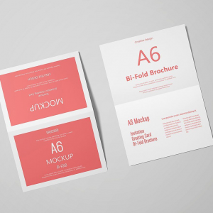 Small Qty A6 Folded Brochures / Greeting Cards