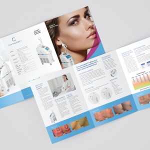 A5 Folded Brochures - 6 Page Foldout