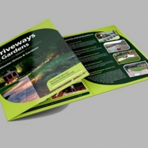 A4 Folded Brochures - 6 Page Foldout