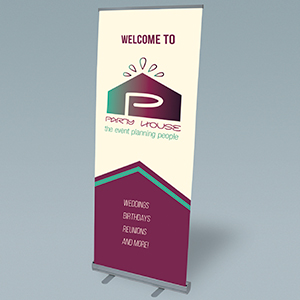 PVC Banner With Stand