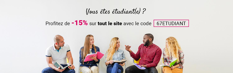 Code promo étudiant