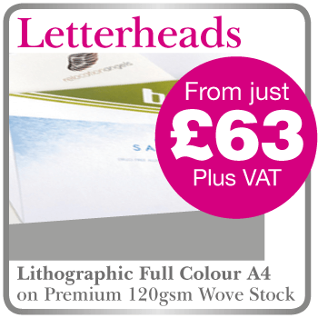 Low Cost Letterheads in Tring