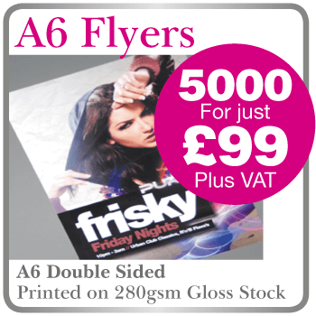 Flyer printing in Hartlepool