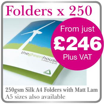 Printed Folders Bicester