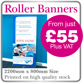 Cheap Roller Banners Berkhamsted, Herts.