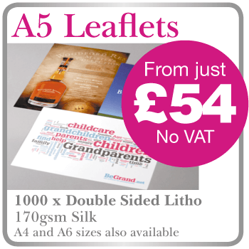 Cheap leaflet printing Buckinghamshire