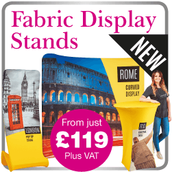 Exhibition fabric display stands bicester