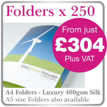 Folder printing in Hartlepool