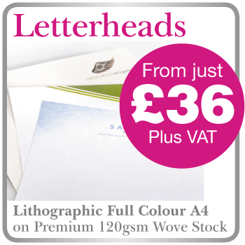 Letterheads and Stationery printing in Hartlepool
