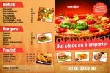 Restaurant gastronomique ou snack à emporter, voici des modèles de flyers, menus et cartes de fidélité à personnaliser.