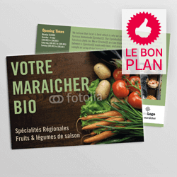 flyer 280g brillant le bon plan