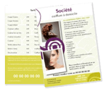 flyer coiffeur paris