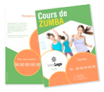 Flyer fitness paris