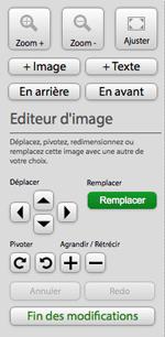 fonctionnalités éditeur en ligne