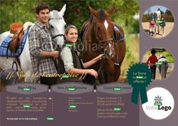 modèle à éditer secteur équitation