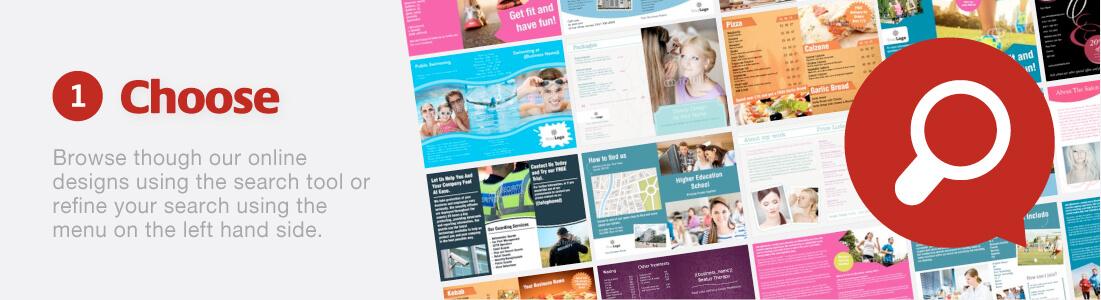 Folded Leaflet Designs