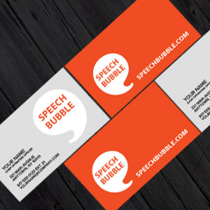 orange and grey business cards, business card printing, Business Cards, Business Card Design from £17