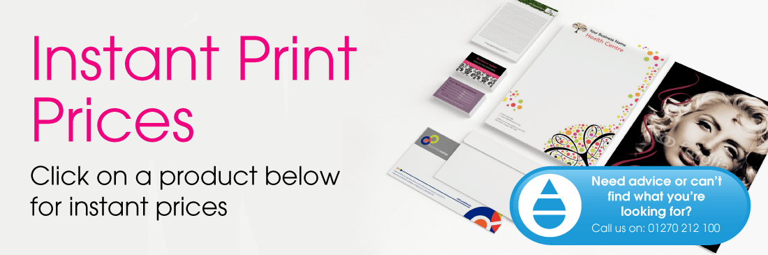 Instant Print Prices