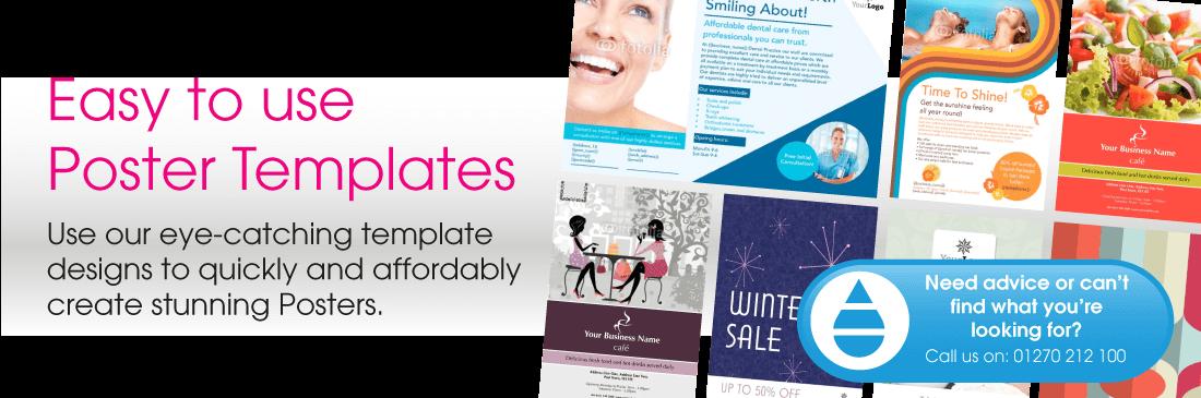 Poster Printing & Poster Design Templates | Print Buying Direct