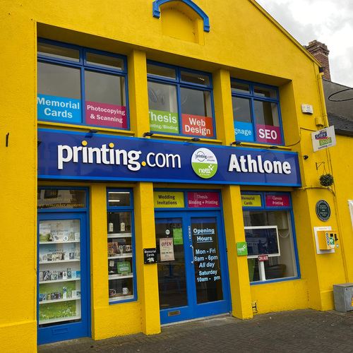 Printing, design and web in Athlone