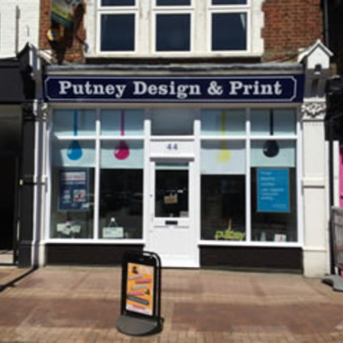 Printing, design and web in London - Putney