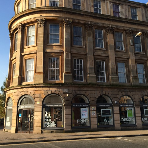 Printing, design and web in Glasgow
