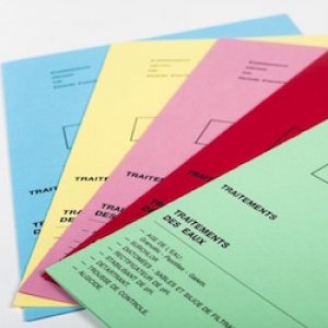Dossier de couleur 4 pages