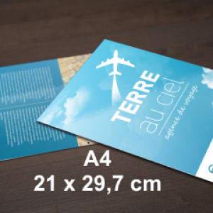 flyers 21x29,7 cm - A4
