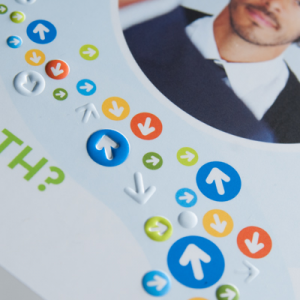 Business card: Matt Laminated + embossed NEW!
