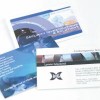 Thickest card: Gloss Laminated front