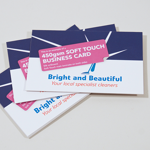 450gsm soft touch matt laminated business cards ofmg colourmoves