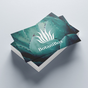 400gsm Matt Lam Business Cards