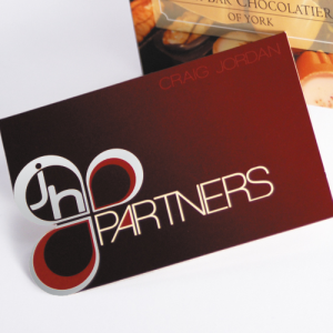 Opuleaf Foil Folding and Cut-out Business Cards