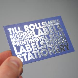 Opuleaf Foil Business Cards