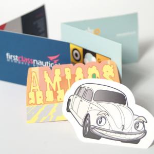 SmoothWove Folding Business Cards