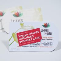 300gsm Uncoated Business Cards