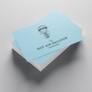 700gsm Uncoated Business Cards