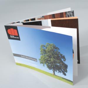 A4 Landscape Booklets : 130gsm Gloss
