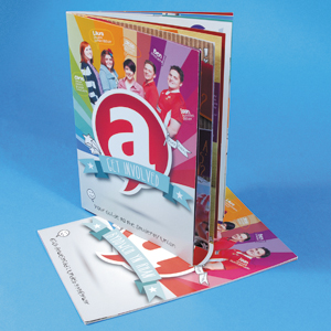 A4 Portrait Booklets : 130gsm Gloss